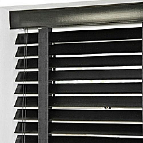 Wooden Window Blinds - BLACK
