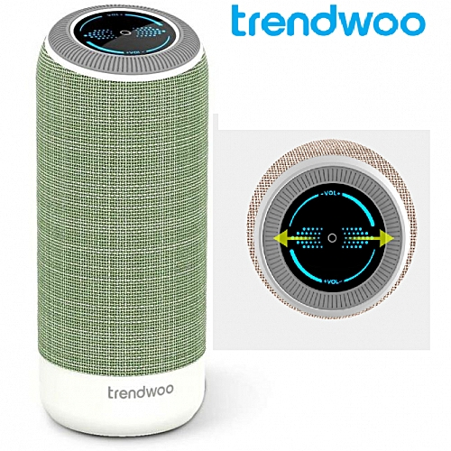 Trendwoo Soundcup S Bluetooth Speaker With Touch Control,NFC, 360 Degree Surround Super Bass System