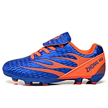 88f64bd69  Ready Stock FG Cleats Children Soccer Shoes Outdoor Professional Football  Shoes Sneakers Male Football