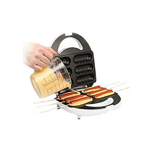 Saachi 6pc Waffle Hot Dog Maker