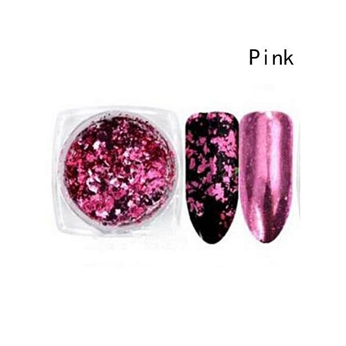 Buy Fashion Mirror Nail Powder Shimmer Glitter Holographic Metallic ...