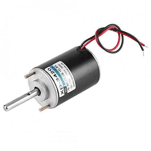 30W Permanent Magnet DC Electric Motor High Speed CW/CCW (12V 3000RPM)