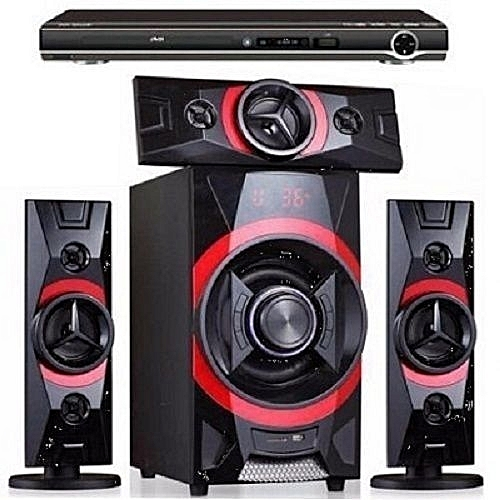 Home Theatre With Bluetooth + DVD Player