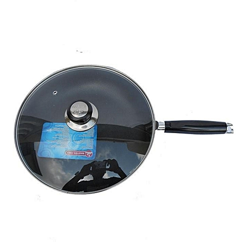 Forged Non-Stick Fry Pan With Glass Lid - 24cm