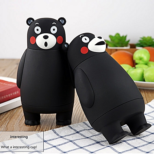 Generic 320ml Cartoon Kumamon Bear Vacuum Cup Stainless Steel Thermo Mug Insulated Vacuum Flasks Thermoses Travel Drink Water Bottle