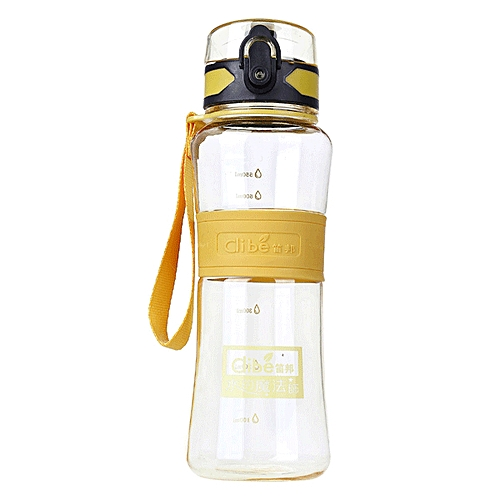 Dibe High Capacity Leak-proof Sport Water Bottle Seal Nozzle Bicycle Travel Cup With Cover Filter