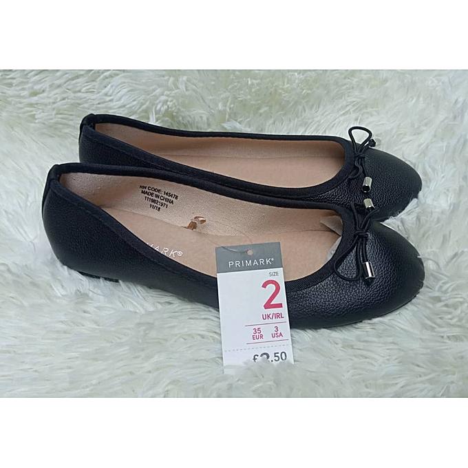 46912347a17 Primark Girls Black Ballerina Flat Shoes