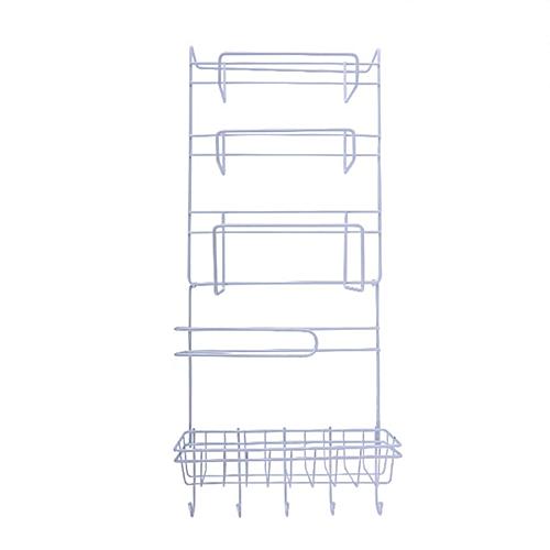 Kitchen Refrigerator Rack Side Shelf Practical Multipurpose Sidewall Holder