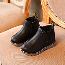 a5337af5eb98 New Baby Shoes Toddler Boys Girls Boots Leather Kids Boots