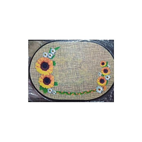 Home Collection 12 Pieces Of Dinning Table Mat (1) Dozen