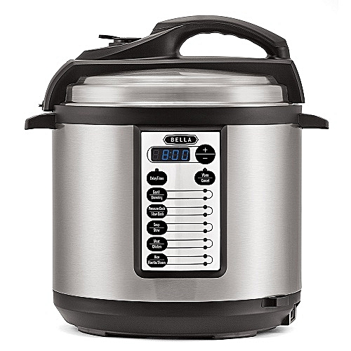 Multi-Function Electric Pressure And Slow Cooker - 6 L