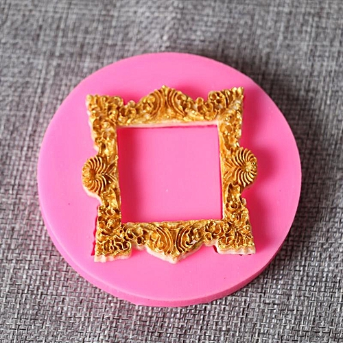 New DIY Photo Frame Modeling Mold Liquid Silicone Cake Fondant Mold Chocolate Mold