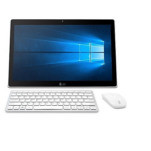 Zed PC AIO - Intel® Celeron® Processor N3350 (2M Cache, Up To 2.4 GHz), 17.3 Inch Touch Screen, Intel® HD Graphics 500, 3GB RAM, 500GB HDD + 32 GB EMMc, Bluetooth 4.0, Standard HDMI, Windows 10 Home, White And Silver + ILife Spark 5