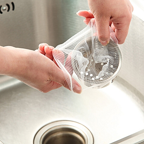 Kitchen Sink Strainer Filter Nets Water Sink Accessories Disposable Rubbish Bag For Home