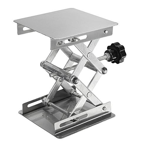 4×4'' 100mm Steel Lab-Lift Lifting Platforms Lab Tool Jack Scissor Stand Rack MH