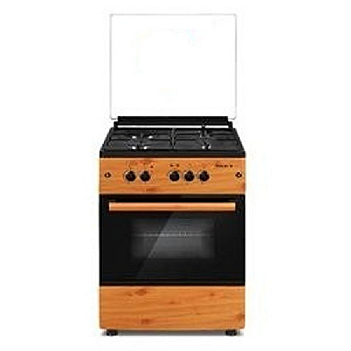 GAS COOKER MAXI 6060(3+1) WOOD