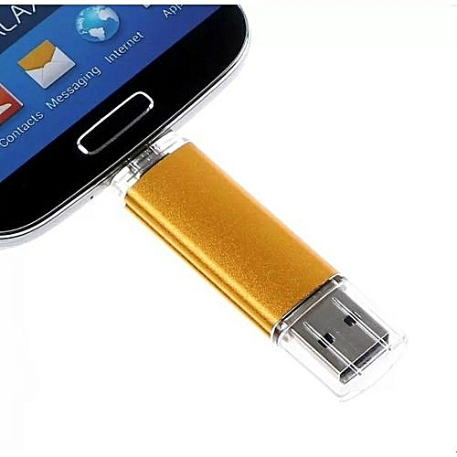 2 In 1 Micro USB 2.0 64GB FLASH DRIVE Memory Stick For OTG