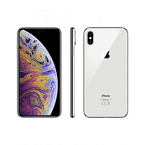 IPhone XS Max (4GB RAM, 256GB ROM) - Silver+ Free Pouch