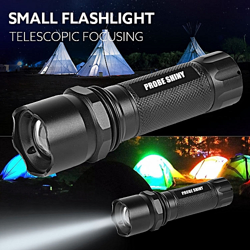 Q5 AAA 3 Modes ZOOMABLE LED Flashlight Torch Super Bright