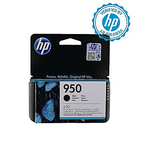 950 Black Ink Cartridge - CN049AE BGX + FREE HP A4 Paper