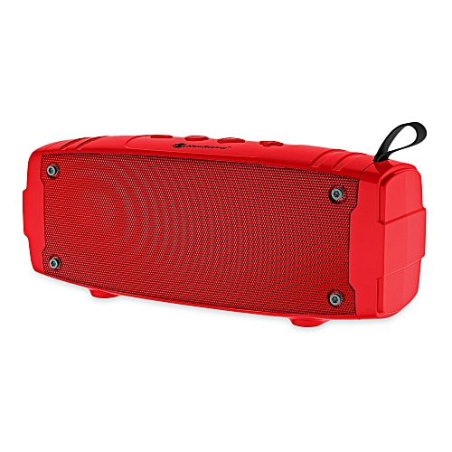 NewRixing NR - 3020 Outdoor Wireless Bluetooth Stereo Speaker Portable Player-RED