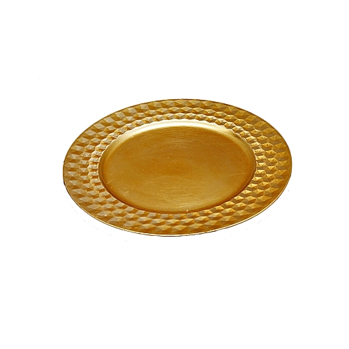 Glassware Gold Charger Plates