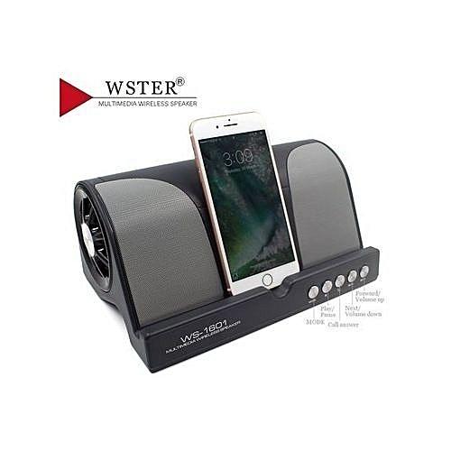 Super Bass Bluetooth Wireless Speaker WS-1601