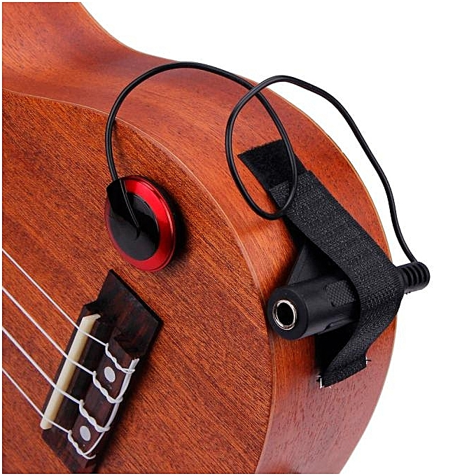 ... Acoustic Piezo Contact Microphone Pickup For Guitar Violin Mandolin Ukulele ...