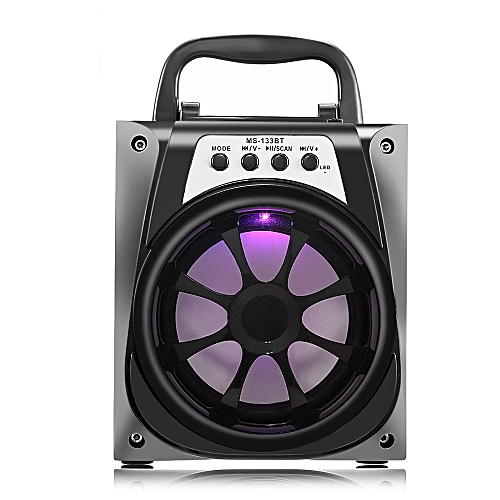 Wireless Bluetooth Speaker With High Power Output - Black