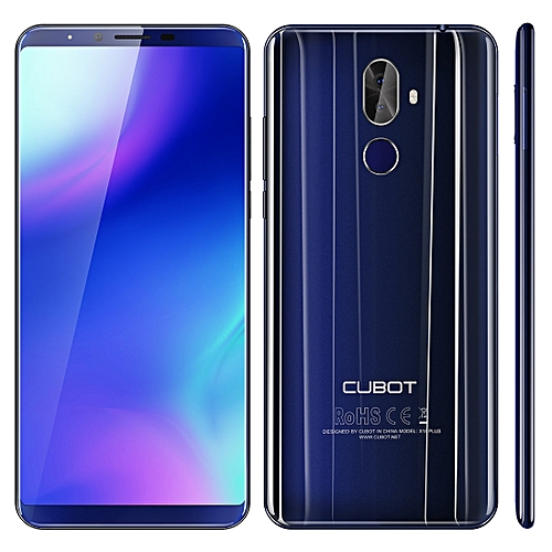 Cubot x18 Plus 4gb 64gb 4000mAh Battery 5.99 Inch Android 8.0 mtk6750t Octa-Core Up To 1.5ghz 4g Blue