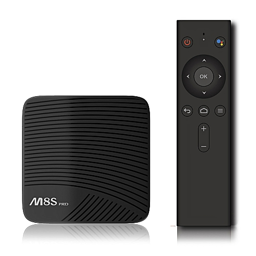 MECOOL M8S PRO Android DRM TV BOX With Voice Control