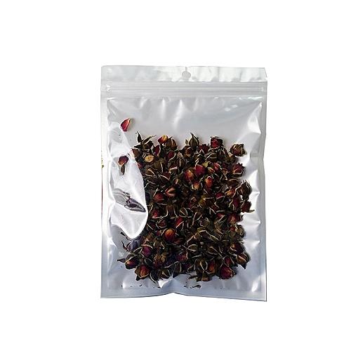 50pcs Lot Ziplock Food Storage Bags Resealable Foil Transpa