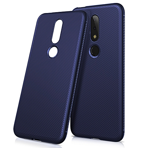 newest b80ef b2fa7 Nokia 6.1 Plus Case,Shockproof Ultra Slim Fit Silicone TPU Soft Rubber  Cover Shock Resistance Protective Back Bumper For Nokia 6.1 Plus (Nokia X6)  ...