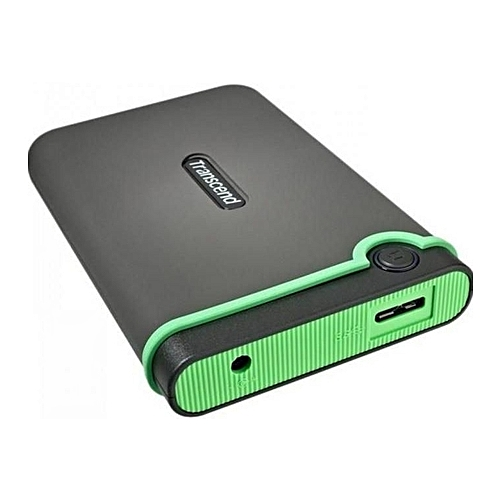 Transcend 1tb 2.5 shockproof durable and fast external hard drive usb 3.0