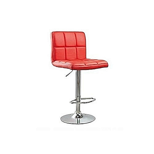 Swivle Bar Stool Red