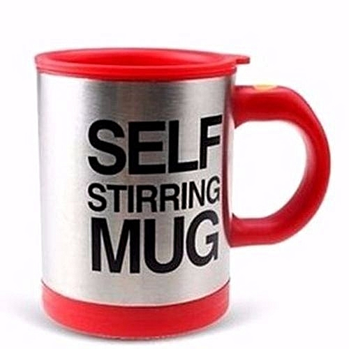 Self Stirring Mug (for Indoor And Outdoor Use)