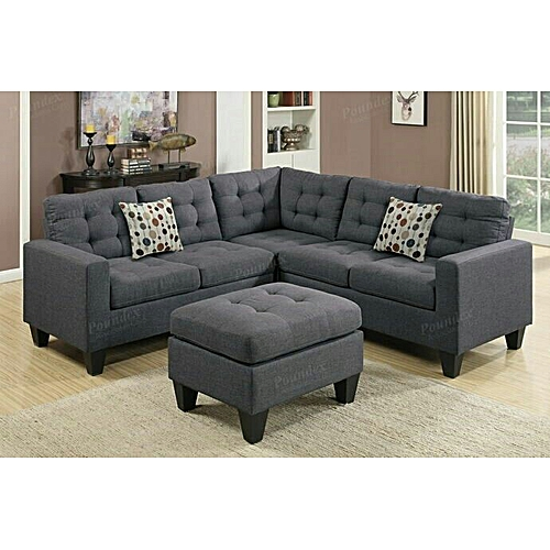 Noblel L-Shaped Sofa (Delivery Within Lagos Only)
