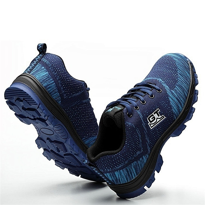 7d90ff8697d Men Safety Work Shoes Resistance To Bump Steel Toe Breathable Work Boots  Hiking Climbing Shoes