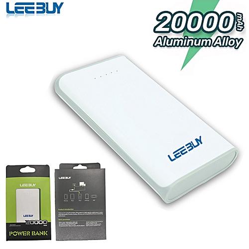 20000mAh Portable Power Banks With Flashlight For Iphone Samsung Tecno Infinix Itel Huawei