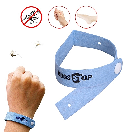 Anti Mosquito Bracelet Bug Repellent Wrist Band Insect Repeling Nets Bug Lock LALANO