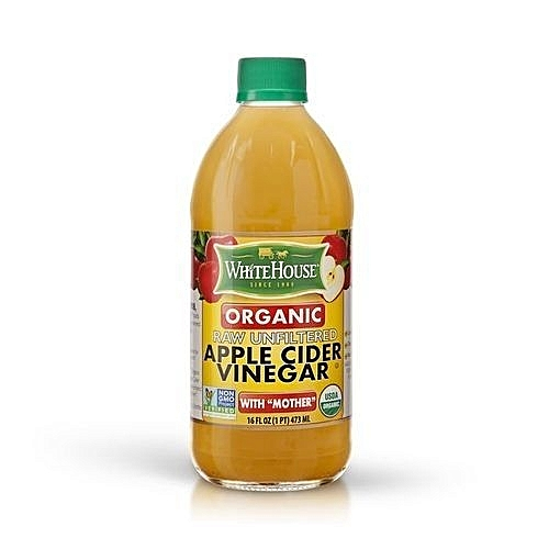 Apple Cider Vinegar Organic Raw Unfiltered With 'Mother' 473ml