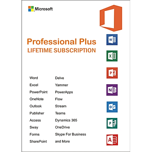Office 2016 Professional Plus 5 Product Keys And Download Link