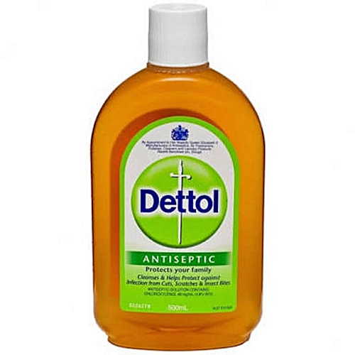 Antiseptic Liquid 500ml Kills Germs Around The Home, Also Suitable For Bathtime