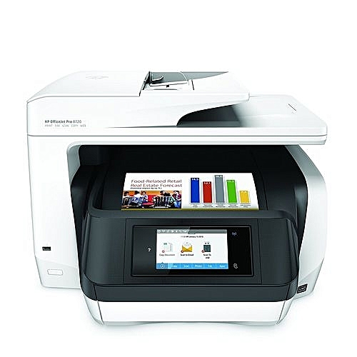 OfficeJet Pro 8720 All-in-One Wireless Printer With Mobile Printing,