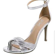 caafa51d7c28 Women  039 s Odessa Twisted Heel Sandal - Silver