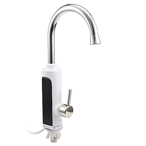 Digital Electric Instant Water Heater Faucet EU - White
