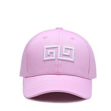b2266fac77b NUZADA Unisex Geometric Embroidery Men Women Baseball Cap Cotton Adjustable  Hat
