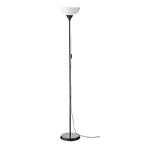 differently 2be64 a6816 NOT Uplighter Floor Lamp, Black