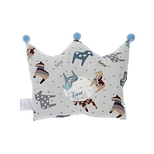 Crown Shape Baby Pillow Infant Newborn Sleeping Headrest