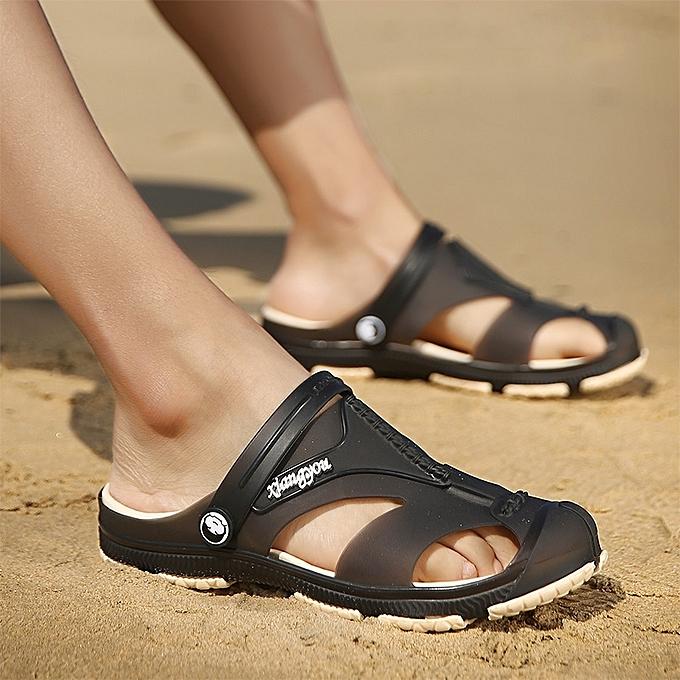 3e0dfb3defe0 EUR Size 40-45 Summer Sandals Men Shoes Comfortable Men Sandals Fashion  Design Casual Men